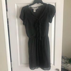 Max Studio Black and White Polka Dot Dress